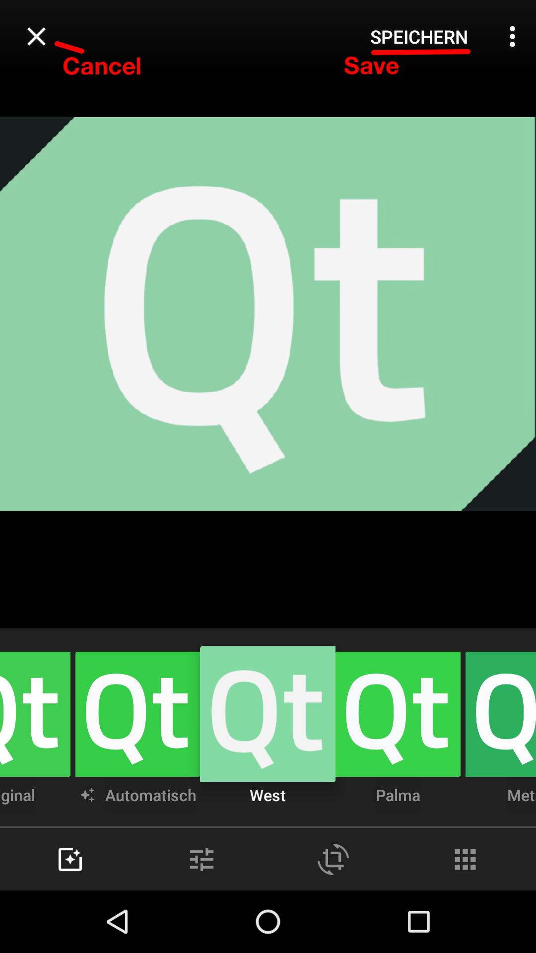 Sharing files on android or ios from your qt app qt blog for Apps to change photos
