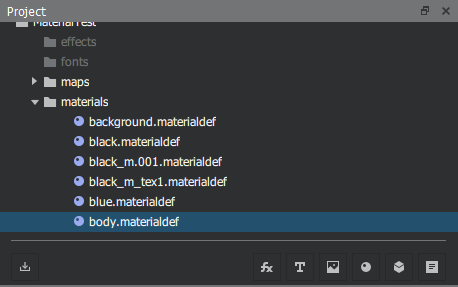New material system